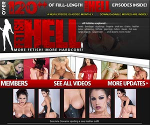 Fetish Hell! The largest collection fetish videos!