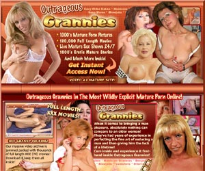 Welcome to Outrageouse Grannies! The Most Explicit Mature Porn