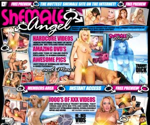 Welcome to Shemale Angel! See Spread-Eagle Tranny Whores, Tight Virgin Ass with Big Tits and Hard Dicks! Watch Hot Streaming Videos, Downloadable MPGs and more!